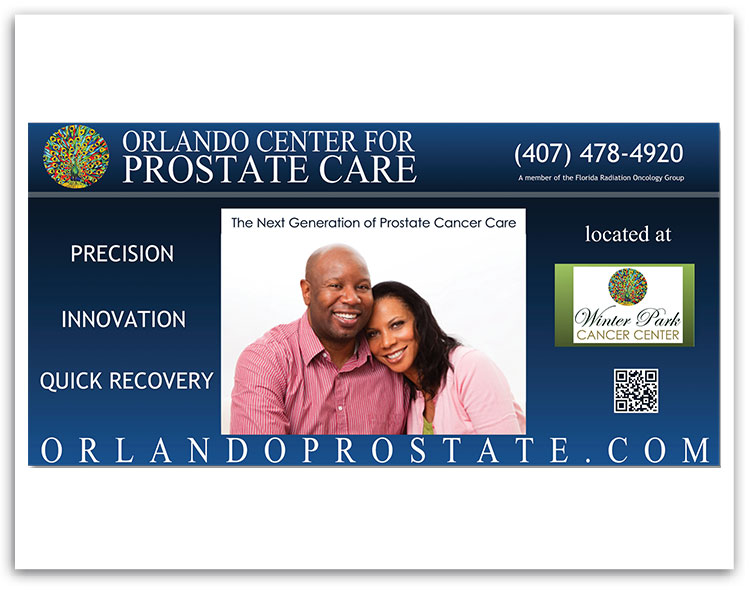 Orlando Center for Prostate Care table sign