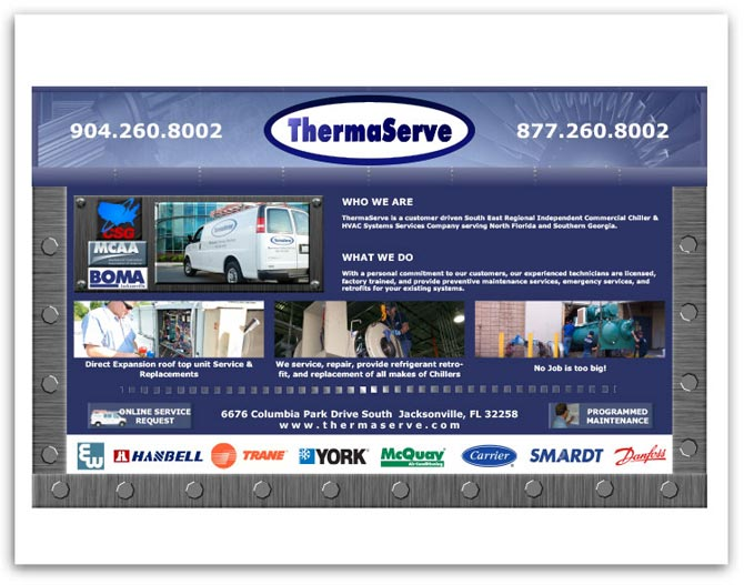 ThermaServe Table sign