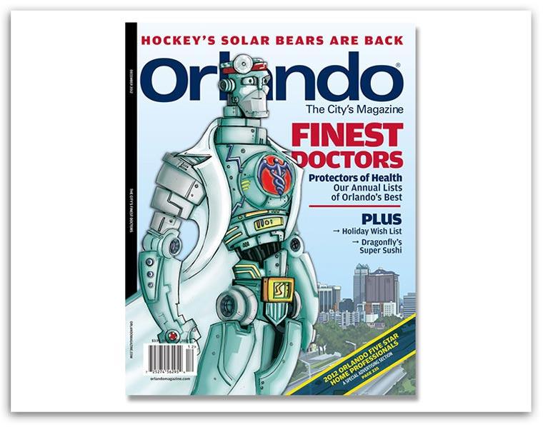 Orlando Magazine Finest Doctors 2013