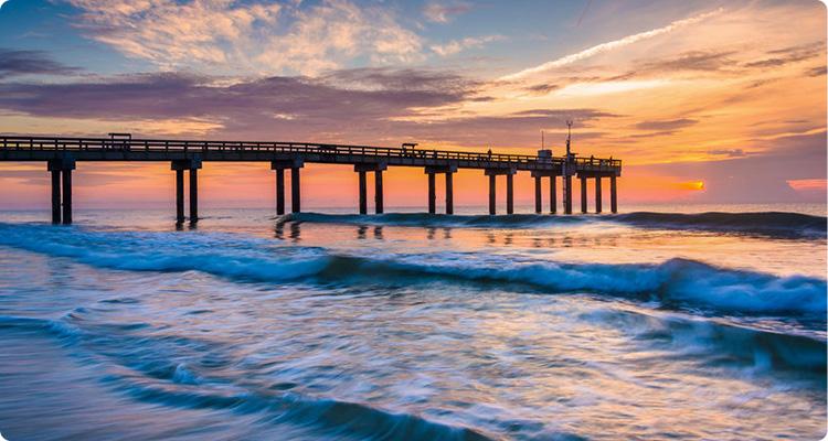 Jacksonville Beach Pier - Jacksonville, Florida