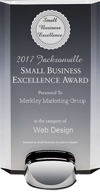 Jacksonville website design award