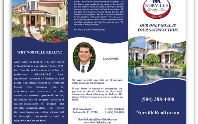 Norville Realty brochure front