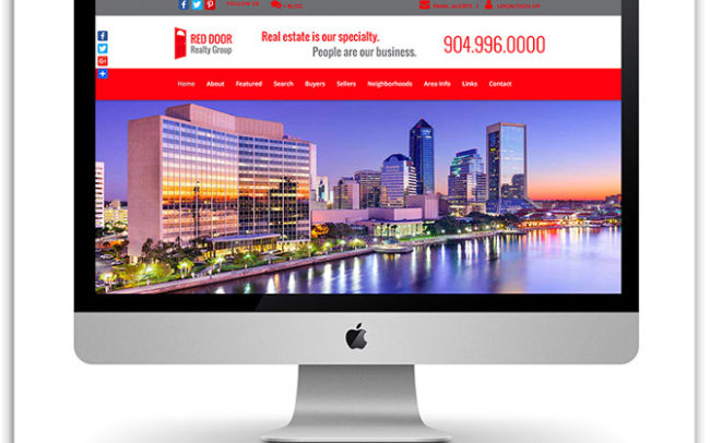 Red Door Realty Group website
