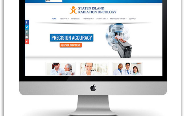 Staten Island Radiation Oncology website