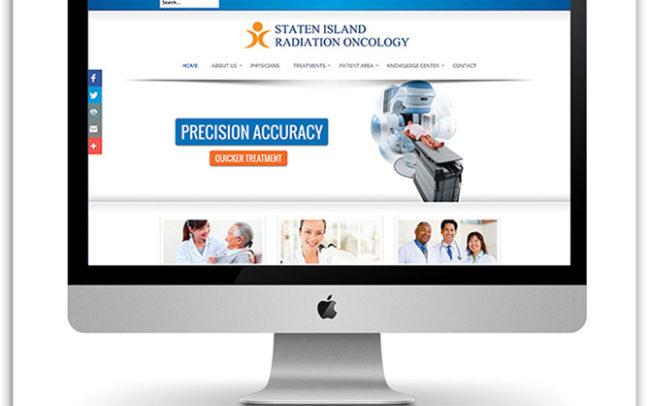 Staten Island Radiation Oncology website
