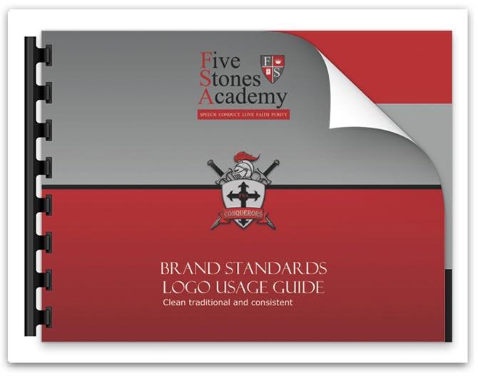 Five Stones Academy Brands Standard Manual