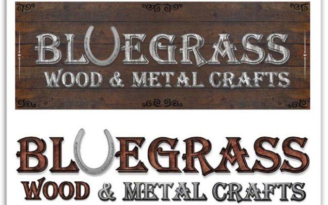 Bluegrass Wood & Metal Crafts logo