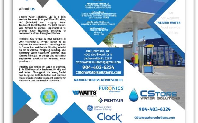 CStore Water Solutions brochure