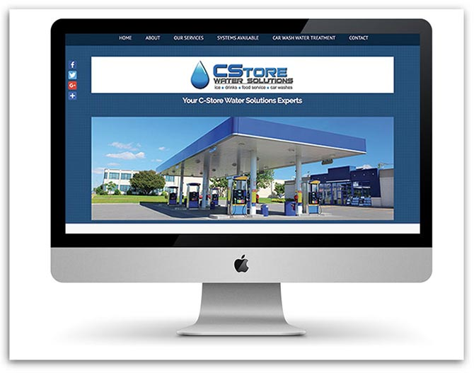 C-Store Water Solutions website