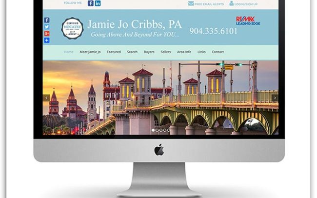 Jamie Jo Cribbs Realtor website
