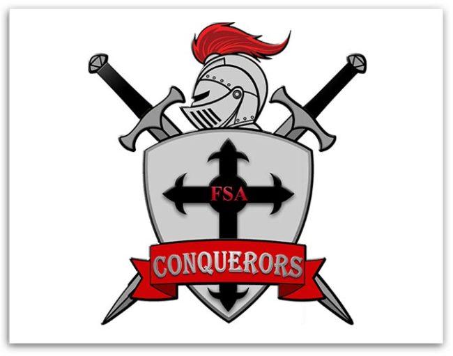 Five Stones Academy knight logo