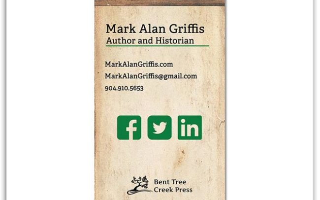 Mark Alan Griffis business card