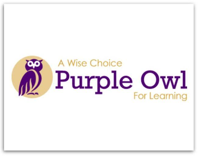 Purple Owl logo