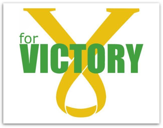 V for Victory logo