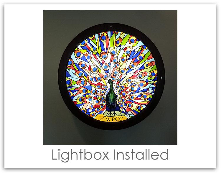 Winter Park Cancer Center Lightbox Sign Installed