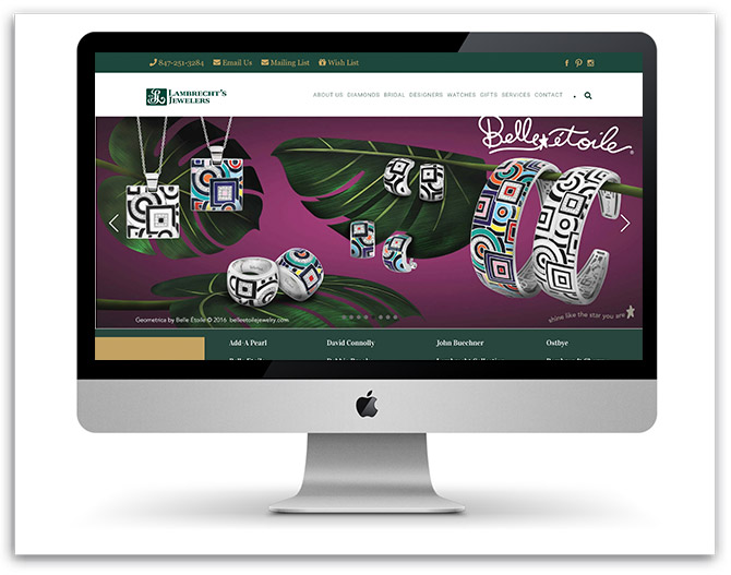 Lambrecht's Jewelers' Website