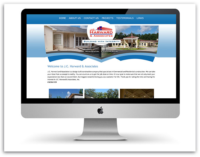 J.C. HARWARD & ASSOCIATES old website
