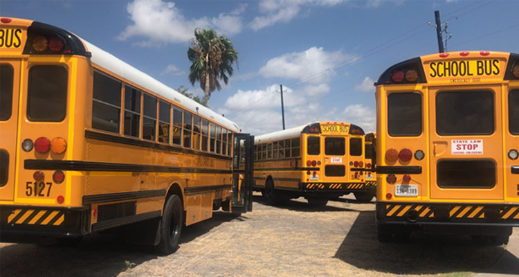 St Johns, FL School buses