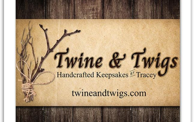 Twine & Twigs Custom Banner Sign