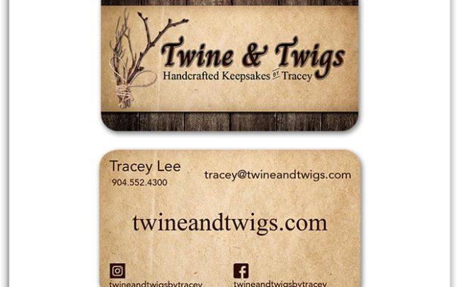 Twine & Twigs Custom Business Card