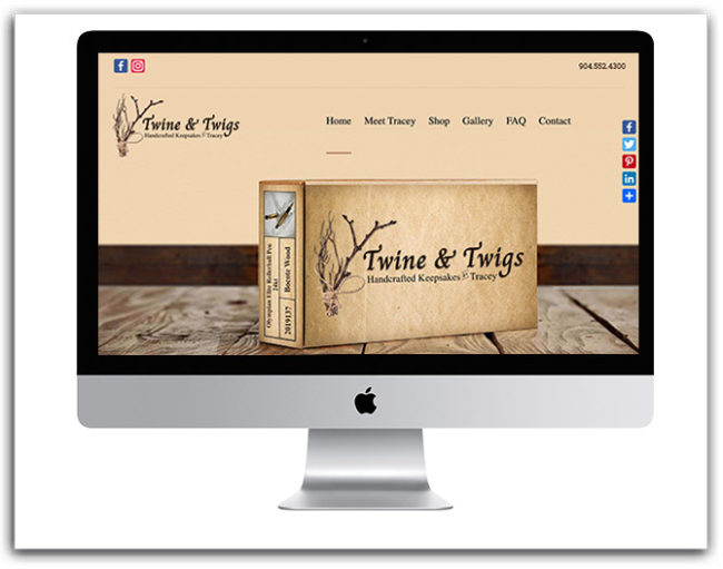 Twine & Twigs Website
