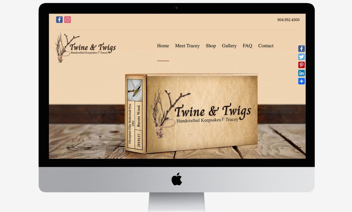 Twine & Twigs Website