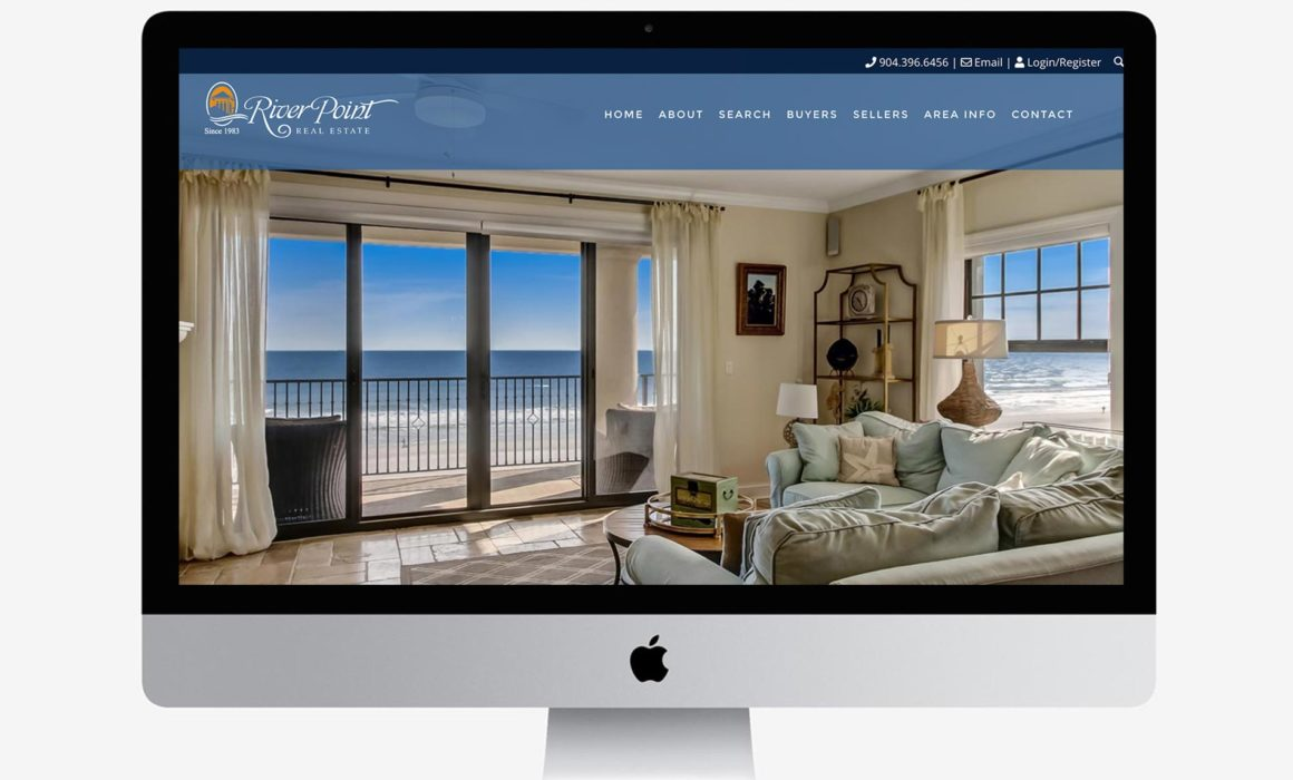RiverPoint Real Estate website