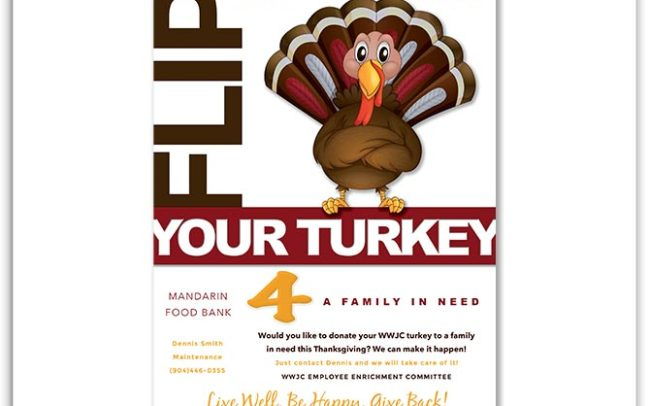 Westminster Woods on Julington Creek Flip Your Turkey Flyer