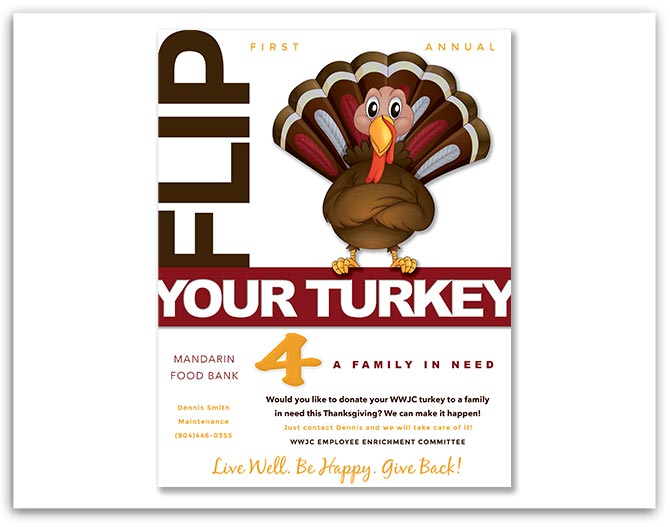 Westminster Woods on Julington Creek Flip Your Turkey Flyer