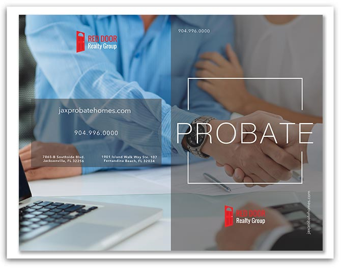 Red Door Realty Group Probate Brochure