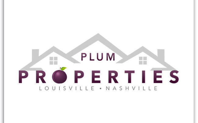 Plum Properties custom logo