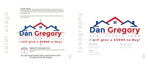 Dan Gregory Logo Specs