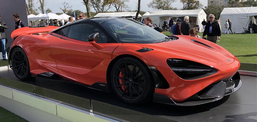 Amelia Island Concours d'Elegance McLaren