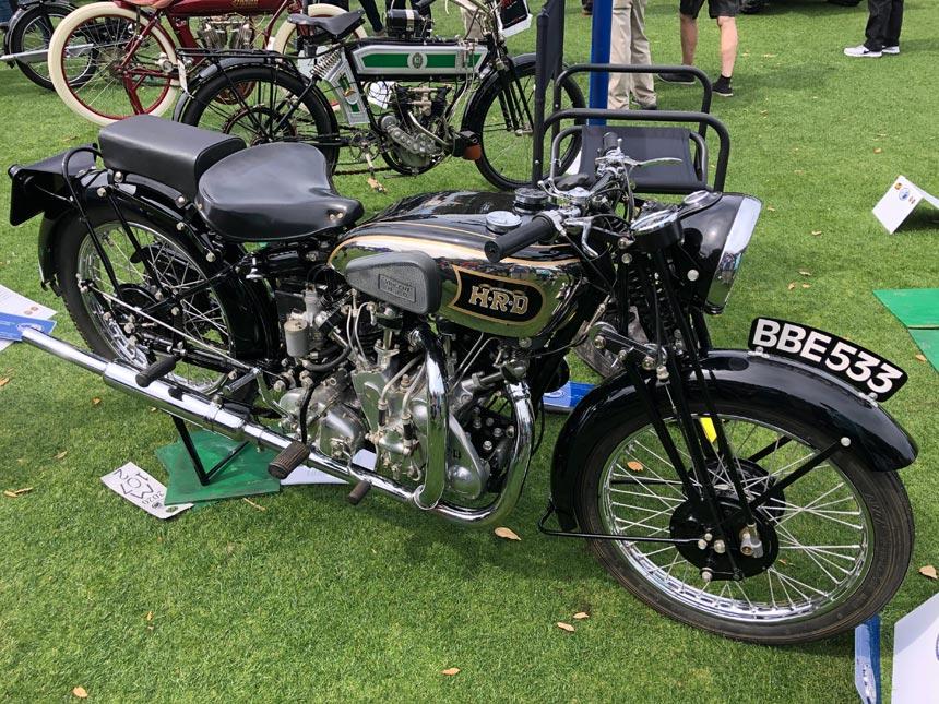 Amelia Island Concours d'Elegance motorcycle
