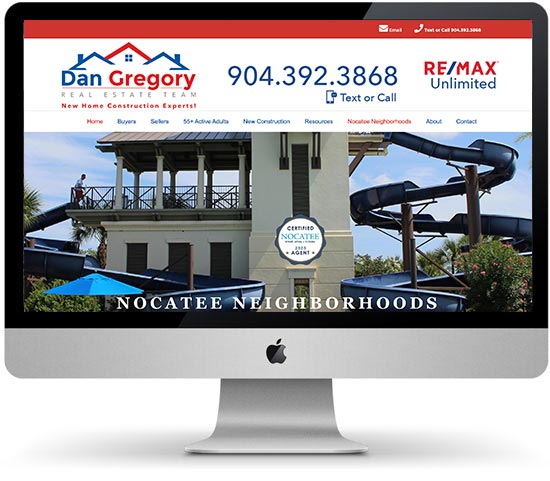 Dan Gregory Team website