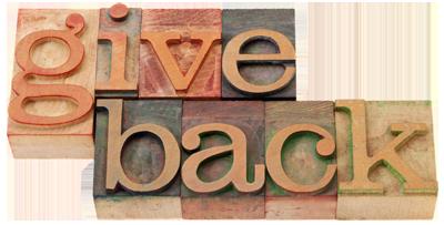 Give back blocks