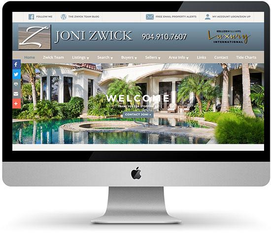 Joni Zwick, PA old website