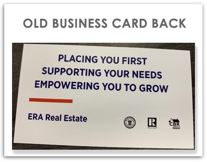 Dwayne Leatherwood Real Estate Group business card