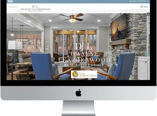 Dwayne Leatherwood Real Estate Group website