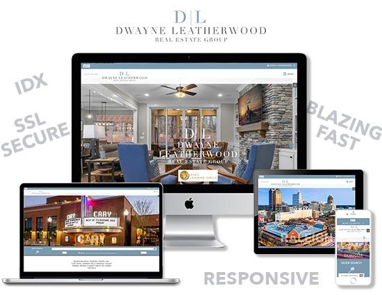 Dwayne Leatherwood Real Estate Group responsive website