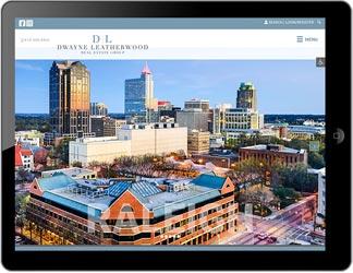 Dwayne Leatherwood Real Estate Group custom website